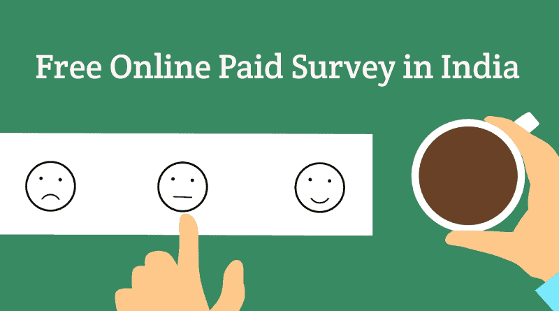 Online-paid-free-survey-in-india
